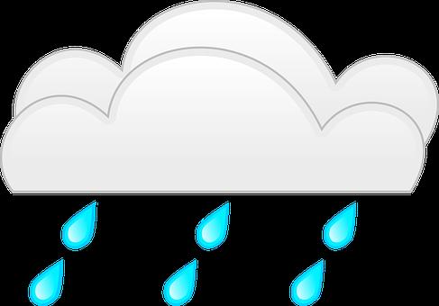 Clouds, Rain, Weather, Droplets, Cumulus, Rainfall