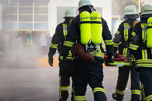 Fire Fighting, Helm, Firefighters, Rescue, Risk
