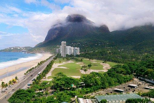 Landscape, Mountain, Brazilwood, Rio De Janeiro, Green