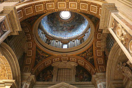 Rome, Vatican City, Italy, Architecture, Cathedral