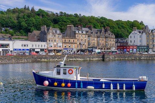 Scotland, Oban, Port, Ship