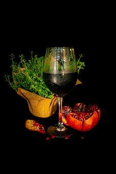 Shana Tova, Wine, Red Wine, Pomegranate