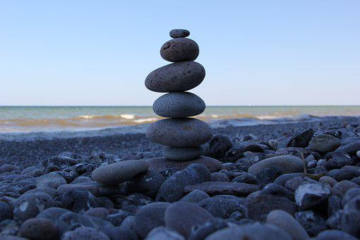 Sea, Blue, Vacations, Relaxation, Stones, Summer, Ocean