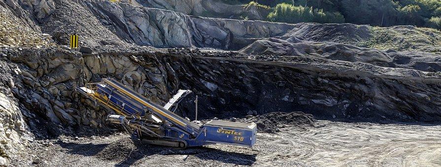 Quarry, Machine, Stone, The Industry, Equipment, Mine