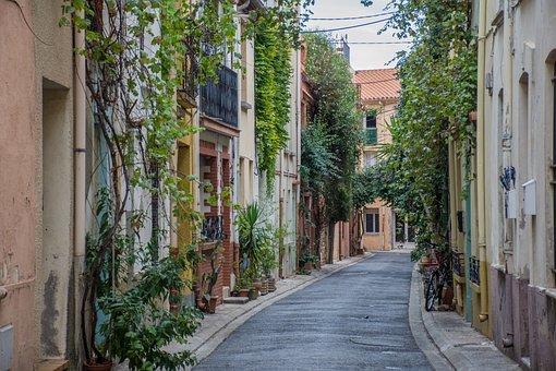 Argelès, France, Tourism, Passage, Charming Street