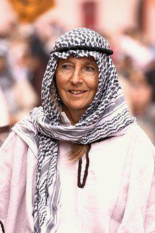 Woman, Scarf, Eyes, Bedouin, Expression