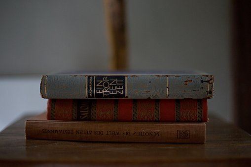 Book, Table, Red, Notebook, Vintage, Paper, Wisdom