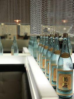 Bottle, Sake, Asian, Luxury