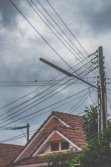 Home, Roof, Birds, Architecture, Building, Real Estate