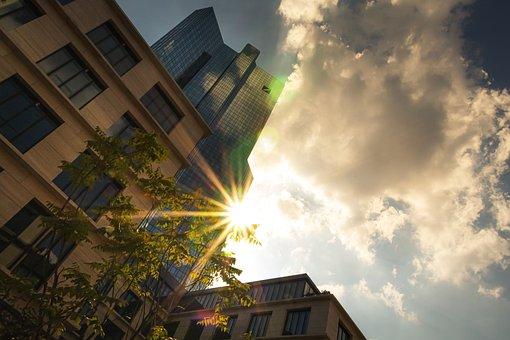 Building, Light, City, Sun, Sky, Architecture, Street