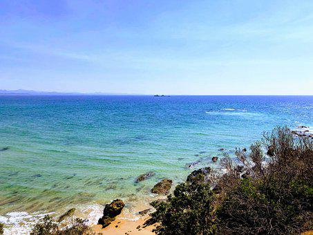 Beach, Australia, Byron Bay, Ocean, Mar, Water, Nature