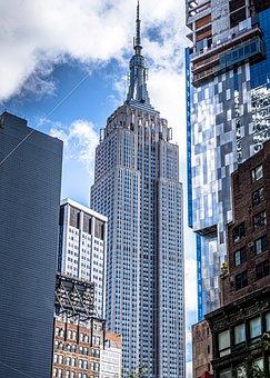 New York, Empire, Manhattan, Architecture, Skyline