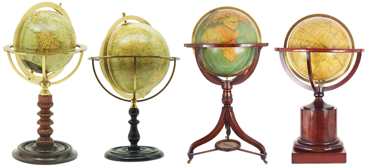 Globe, Map, Planet, World, Geography, Old, Continents