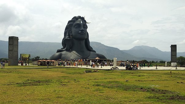 Shiva, Shiv, Shivratri, Isha, Statue, India, Meditation