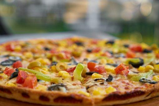 Pizza, Dough, Cheese, Food, Tomato, Delicious, Fresh