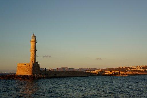 Lighthouse, Sea, Water, Atmospheric, Marine