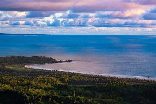 Landscape, Sour Golden Coast, Cloud, Reflection