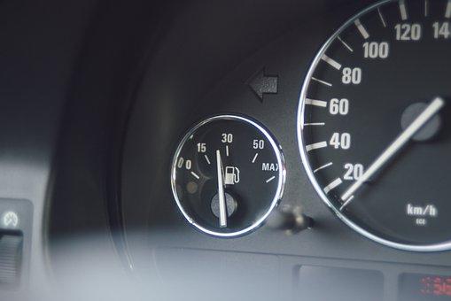 Bmw, Bmw 5, E39, The Interior Of The, The Fuel Level