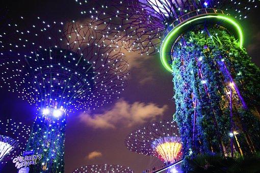 Garden By The Bay, Singapore, Asia, Futuristic, Tourism