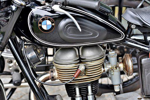 Motorcycle, Bmw, Motor, Two Wheeled Vehicle, Machine