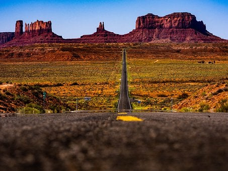 Monument Valley, Utah, Arizona, Forrest Gump, Usa