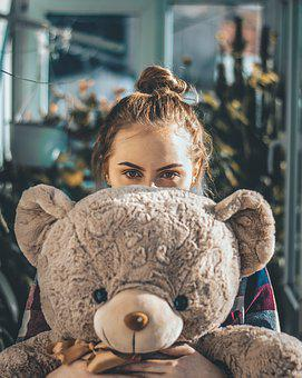 Bear, Portrait, Cute, Wildlife, Young, Girl, Fur
