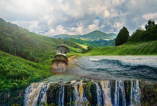 Fantasy, Landscape, Fantasy Landscape