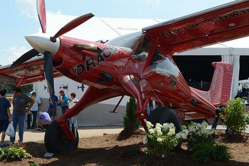 Draco, Airplane, Oshkosh, Pzl-104ma Wilga 2000, Flight