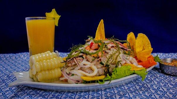 Food, Ceviche, Peru, Gastronomy, Menu, Gourmet, Lunch