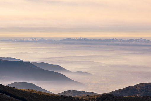 Layers, Fog, Foggy, Scenic, Nature, Forest, Landscape