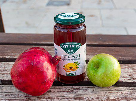 Jewish New Year, Sweet, Holiday, Ripe, Shana Tova