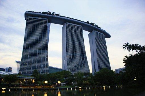 Marina Bay Sands, Singapore, Hotel, Architecture