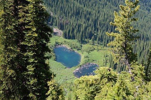Alpine, Lakes, Mountain Lakes, Mountain Lake, Canada