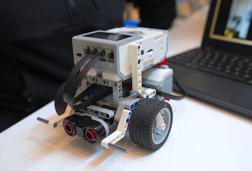 Lego, Robot, Robotics, Machine, Toys, Figure, Build