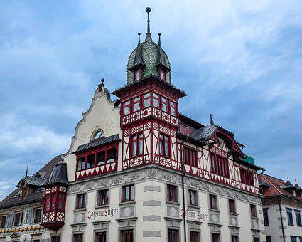 Truss, Fachwerkhaus, Historic Center, Middle Ages