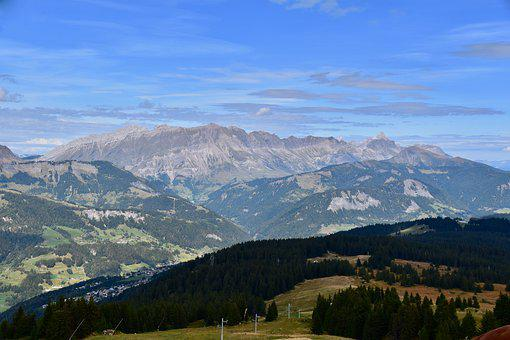 Mountain, Landscape, Panoramic Views