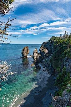 Canada, Newfoundland, Skerwink Trail, Ocean, Landscape