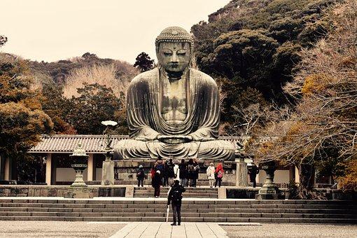 Big Buddha, Japan, Peace, Culture, Buddhism, Asian