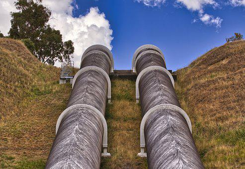 Pipes, Hydroelectricity, Pipeline, Energy, Reservoir