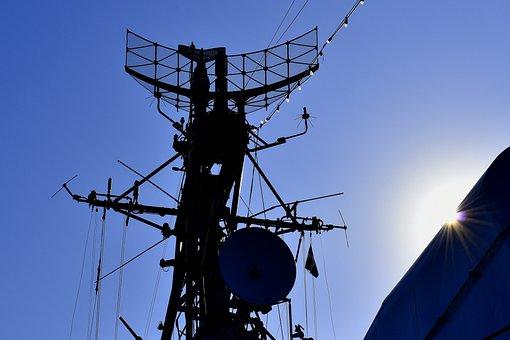 Radar, Ship, War Ship, Communication, Equipment