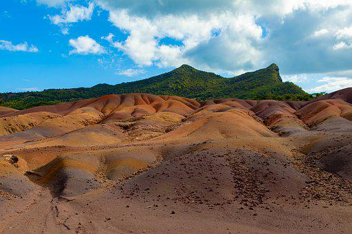 Mauritius, Seven Colored Earth, 7 Coloured Earth