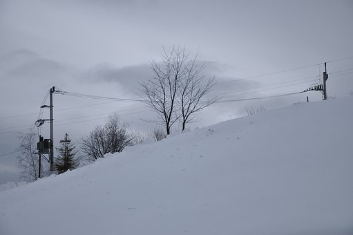 Winter, Mountains, Snow, Cold, Landscape, Tree