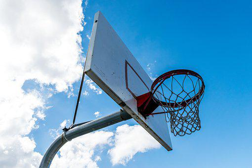 Basketball, Sky, Sport, Sports, Ball, Game, Basket