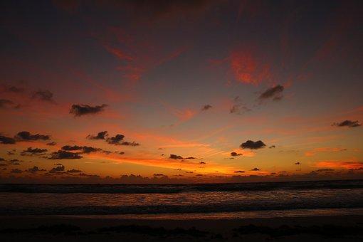 Saint Agustine Beach, Beach, Sun, Ocean, Sea, Summer