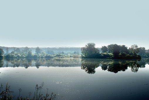 Water, The Fog, Beauty, Beautiful, Landscape, Nature
