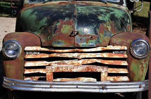 Chevy, Truck, Vintage, Chevrolet, Pickup
