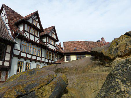Quedlinburg, Truss, Architecture, Historic Center