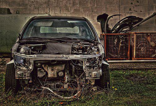 Old, Car, Broken, Automobile, Vehicle, Auto, Pkw