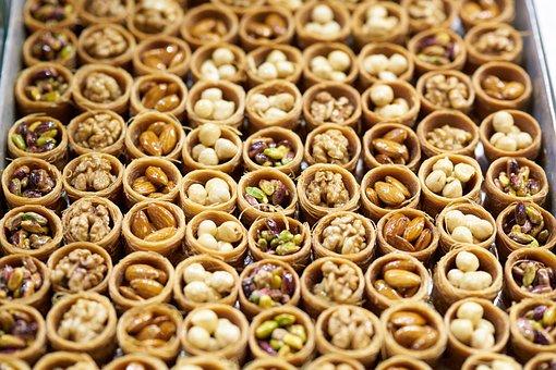 Sweet, Baklava, Turkish Delight, Turkey, Sunday, Market