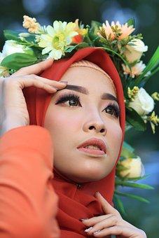 Beauty, Makeup, Model, Portrait, Girl, Fashion, Woman